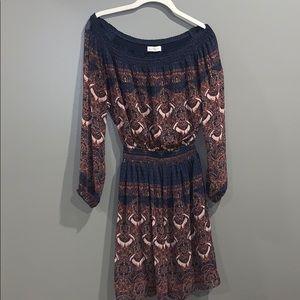 Boho Abercrombie Fall Dress